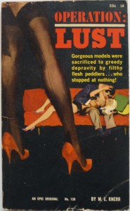 Operation Lust - sex and crime novel