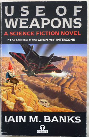 Gnome sf sci-fi use of weapons iain m banks